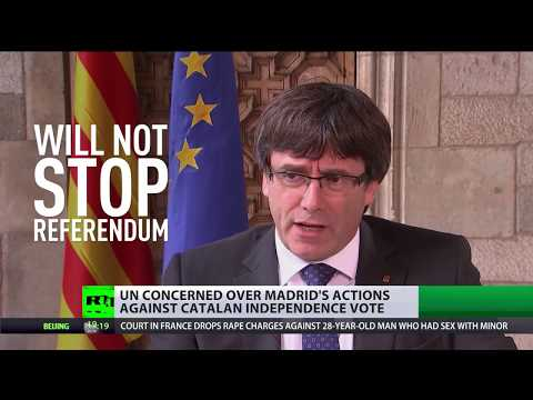 Hackers in Catalonia? Spanish media accuses Russians of keeping referendum site active