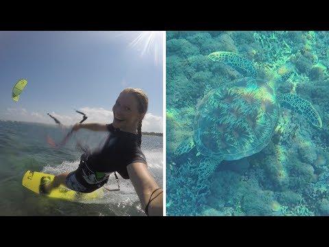 Kitesurfing & Turtles On Bali