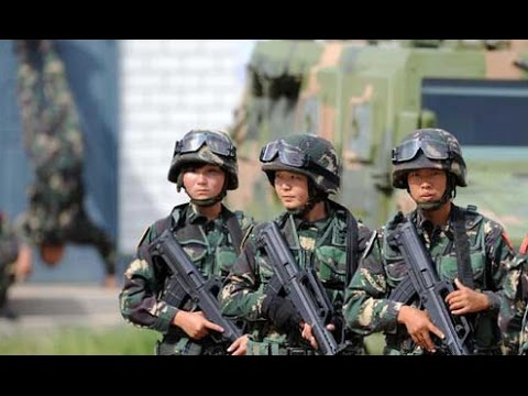 chinese army spec ops training manual