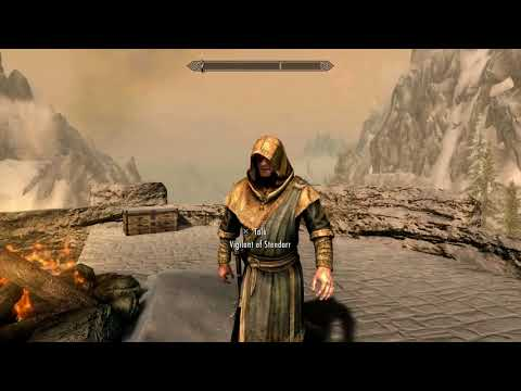 Skyrim Special Edition - Black Briar Lodge: Shrine of Stendarr (Cure Diseases) Gameplay (2016)