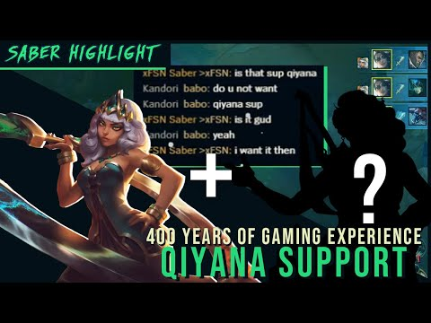 400 years + Qiyana support = ?!?!