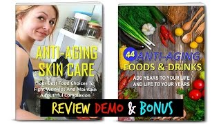 Anti aging diet and preventing lifestyle diseases plr review demo bonus - top quality
