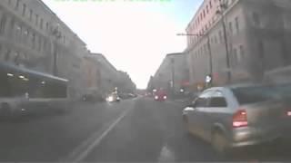 ЯП файлы   Мотоциклисты в рубашке скользили по проезжей части ДТП! Авария! Видеорегистратор