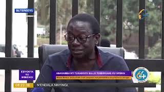 #EBYOKYA, MOSES MATOVU ASEKEREDDE KABAKO KU KYOKWEYAMBULA KU STAGE