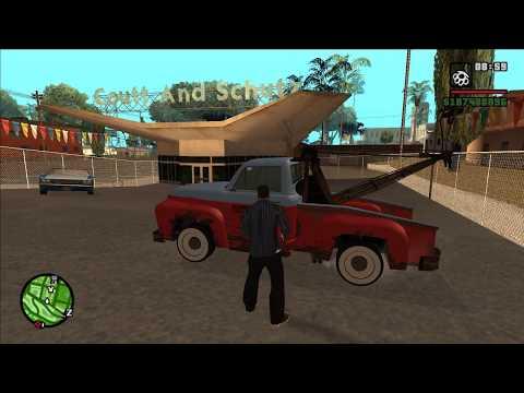 GTA: San Andreas [PC] TLAD TowTruck Mod Showcase [1080p]