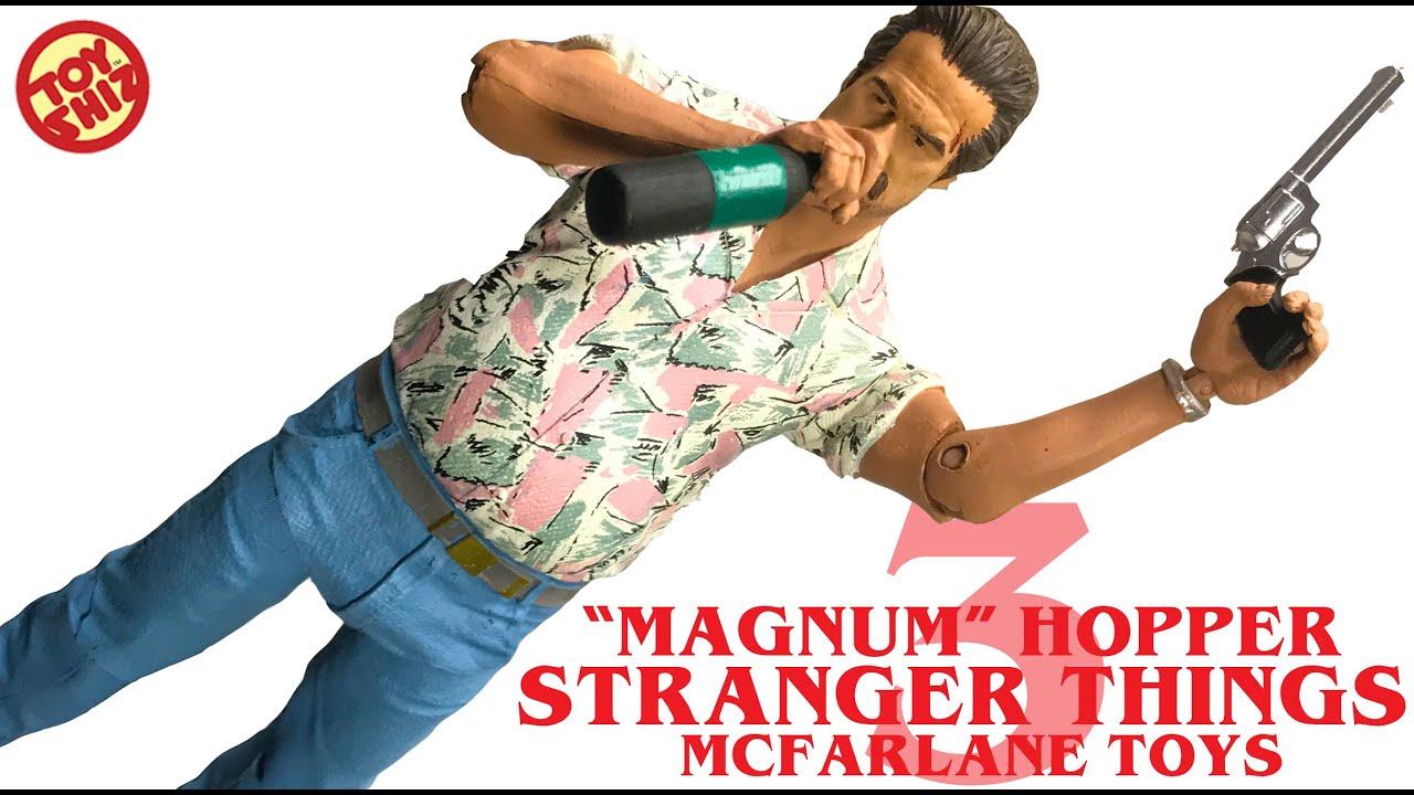STRANGER THINGS Season 3 Chief Hopper Action Figure McFarlane