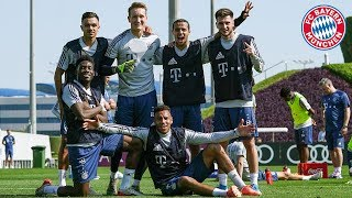4 Teams, 2 Pitches, 1 Champion | Highlights Doha Cup 2020 | FC Bayern Training