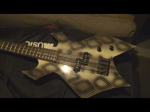 """BC Rich Bass Guitar Repair and Comedy """"How to Clean Your Controls"""""""