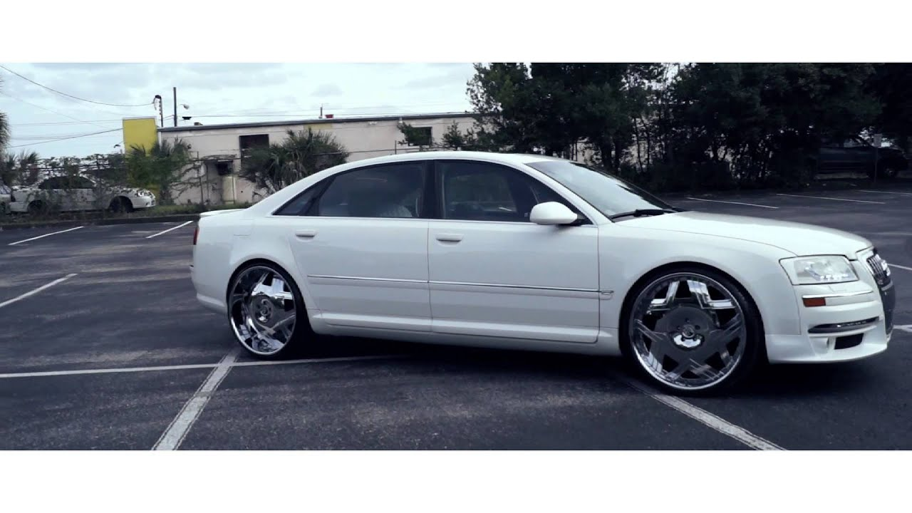 Audi S8 On 24 Quot Amani Forged Castillo Wheels Youtube