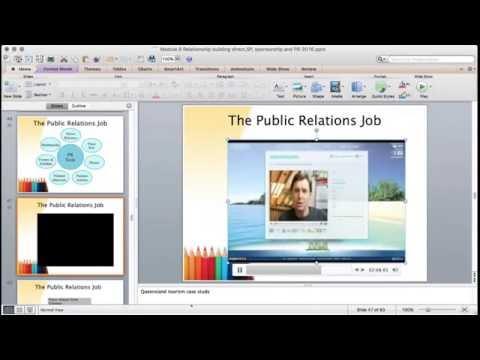 IMC lecture: Relationship Building: Sponsorship/PR/Corporate