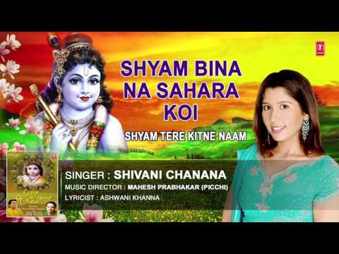 SHYAM BINA NA SAHARA KOI KRISHNA BHAJAN BY SHIVANI CHANANA I AUDIO SONG ART TRACK