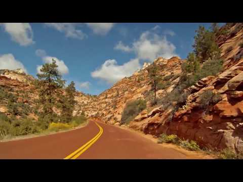 Zion National Park Drive Through