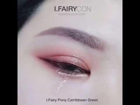 I Fairy Pony Caribbean Natural Color Contact Lens