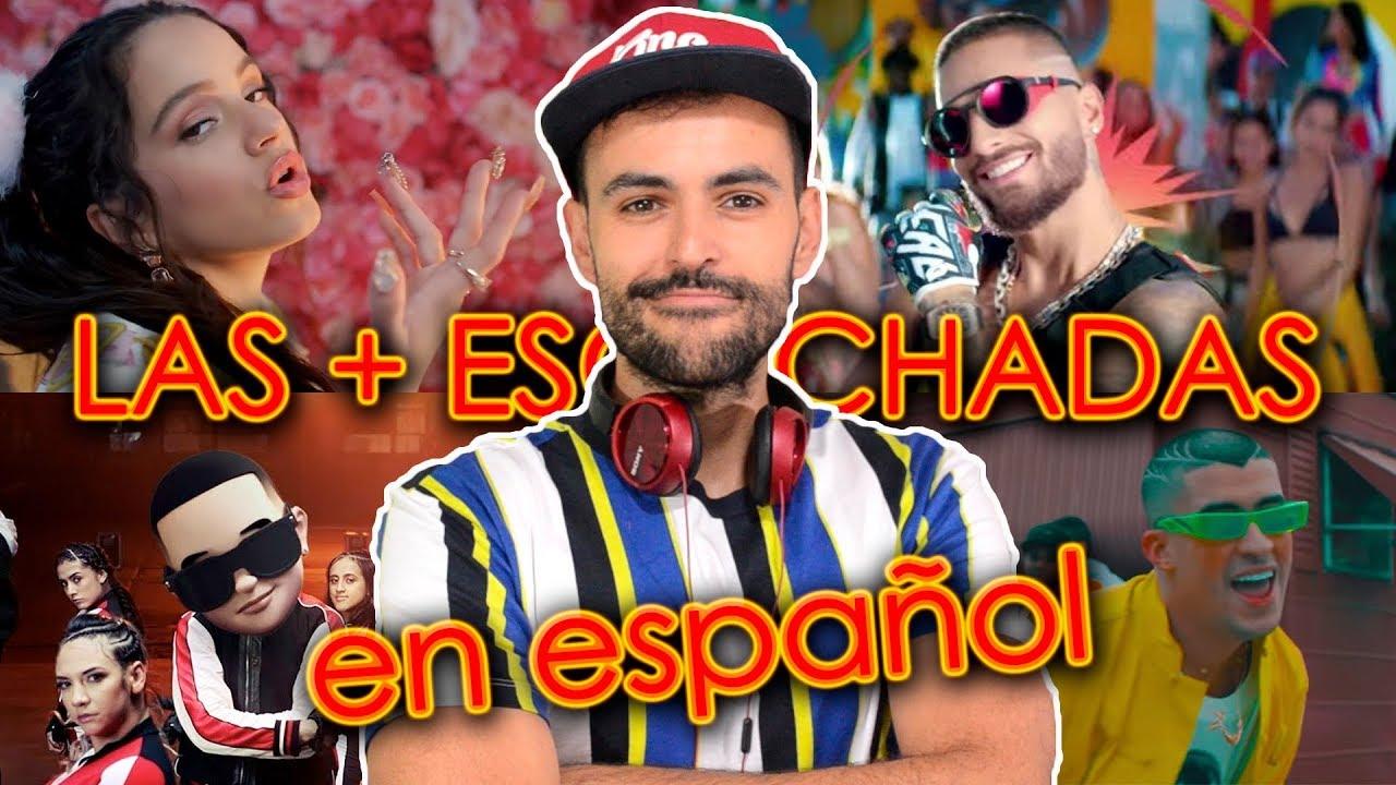 Canciones Más Escuchadas 2019 En Español Videos Más Vistos En Youtube De Música Wow Qué Pasa Youtube