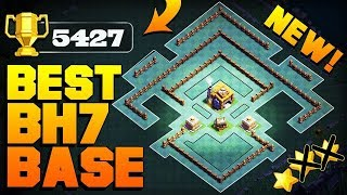 BEST Builder Hall 7 Base With PROOF! | Builder Hall 7 Base Layout Best Design | Clash of Clans