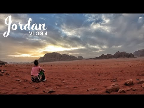 Wadi Rum Desert Camping | Jordan Road Trip Vlog 04