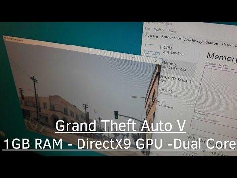 ✰ GTA V 1GB RAM - DirectX9 (DX9) GPU