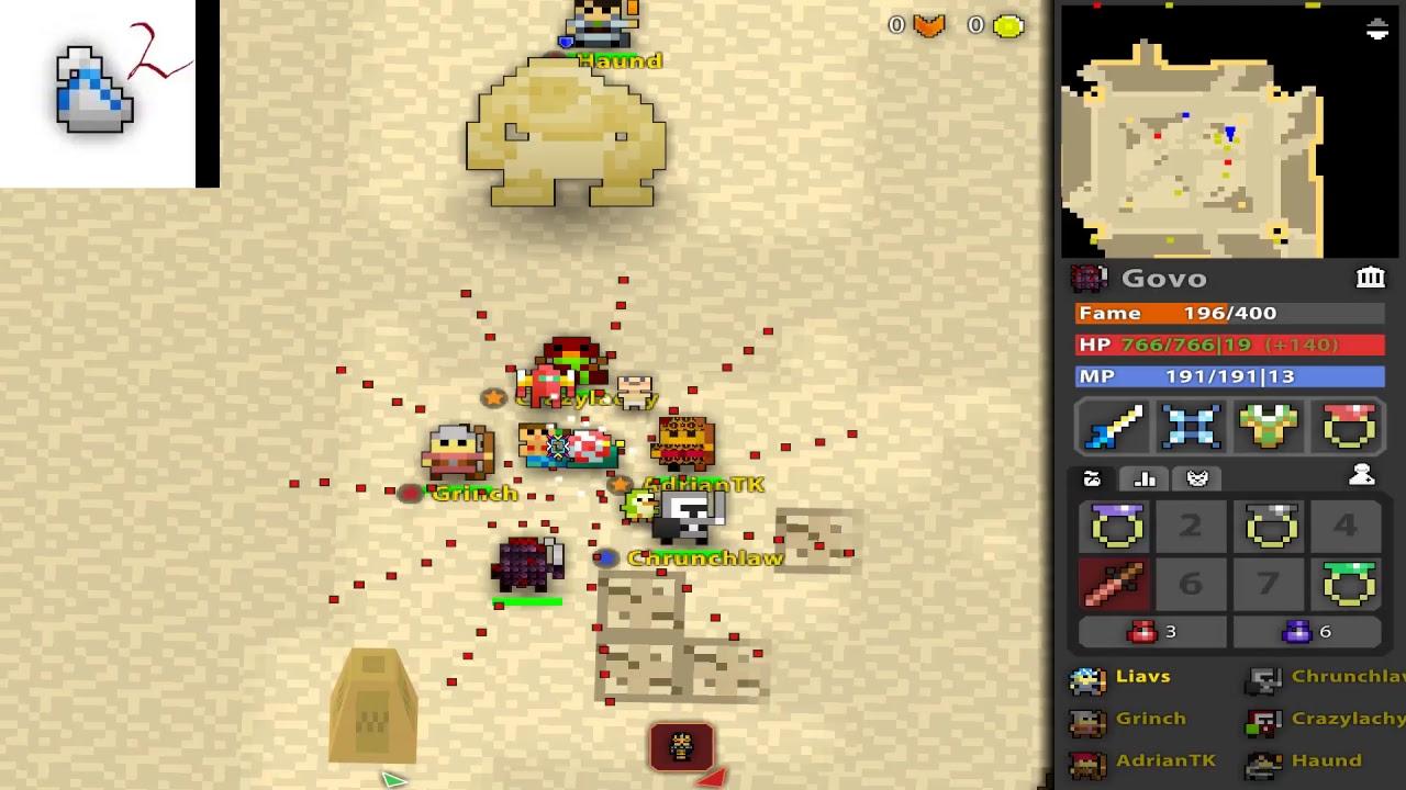 realm of the mad god how to play ninja