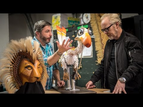 Behind the Scenes in The Lion King's Puppet Shop