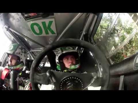 FIA ERC Giru Di Corsica - Tour De Corse 2014 - LAPPI CRASH