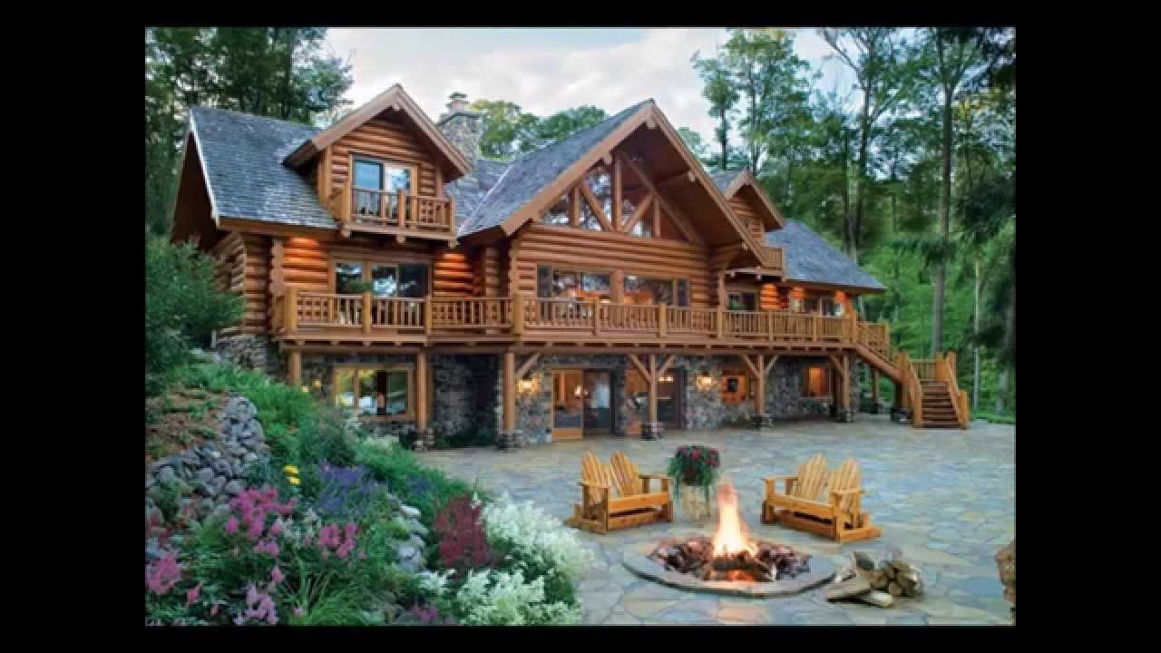 Minnesota Log Homes Lakeplace Com Youtube