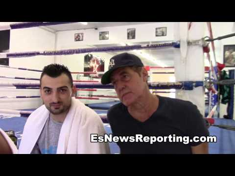 joe goossen and vanes martirosyan on mayweather pacquiao and GGG EsNews