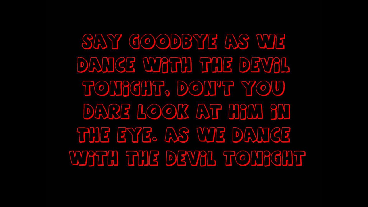 Breaking Benjamin - Dance with the devil lyrics - YouTube