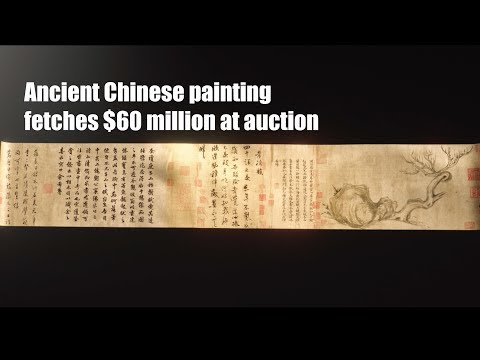 1,000-year-old painting by Chinese poet Su Shi fetches $60 million at auction