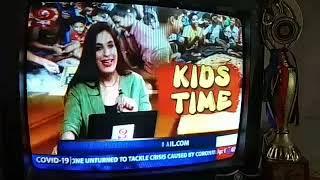 Aastha Gupta on #DD #News #TV channel program