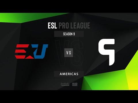 eUnited vs Ghost - ESL Pro League Season 9 - Map 1