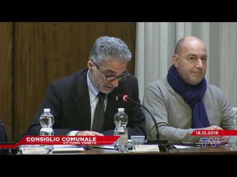 CONSIGLIO COMUNALE VITTORIO VENETO - Seduta del 18.12.2018