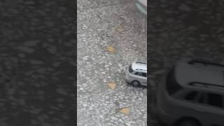 Жесткая авария в Алматы