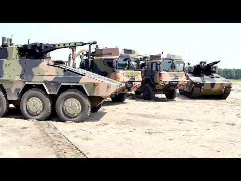 Rheinmetall Defence Australia Vehicle Showcase