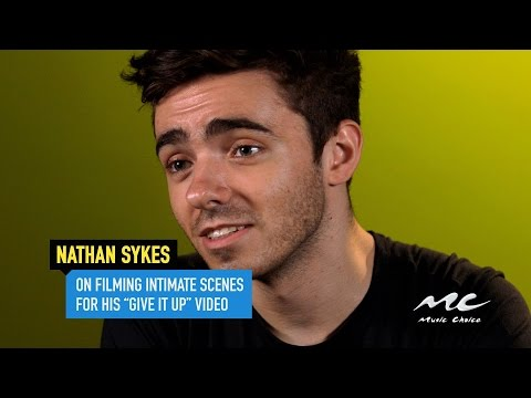 """Nathan Sykes on his Steamy """"Give It Up"""" Video"""
