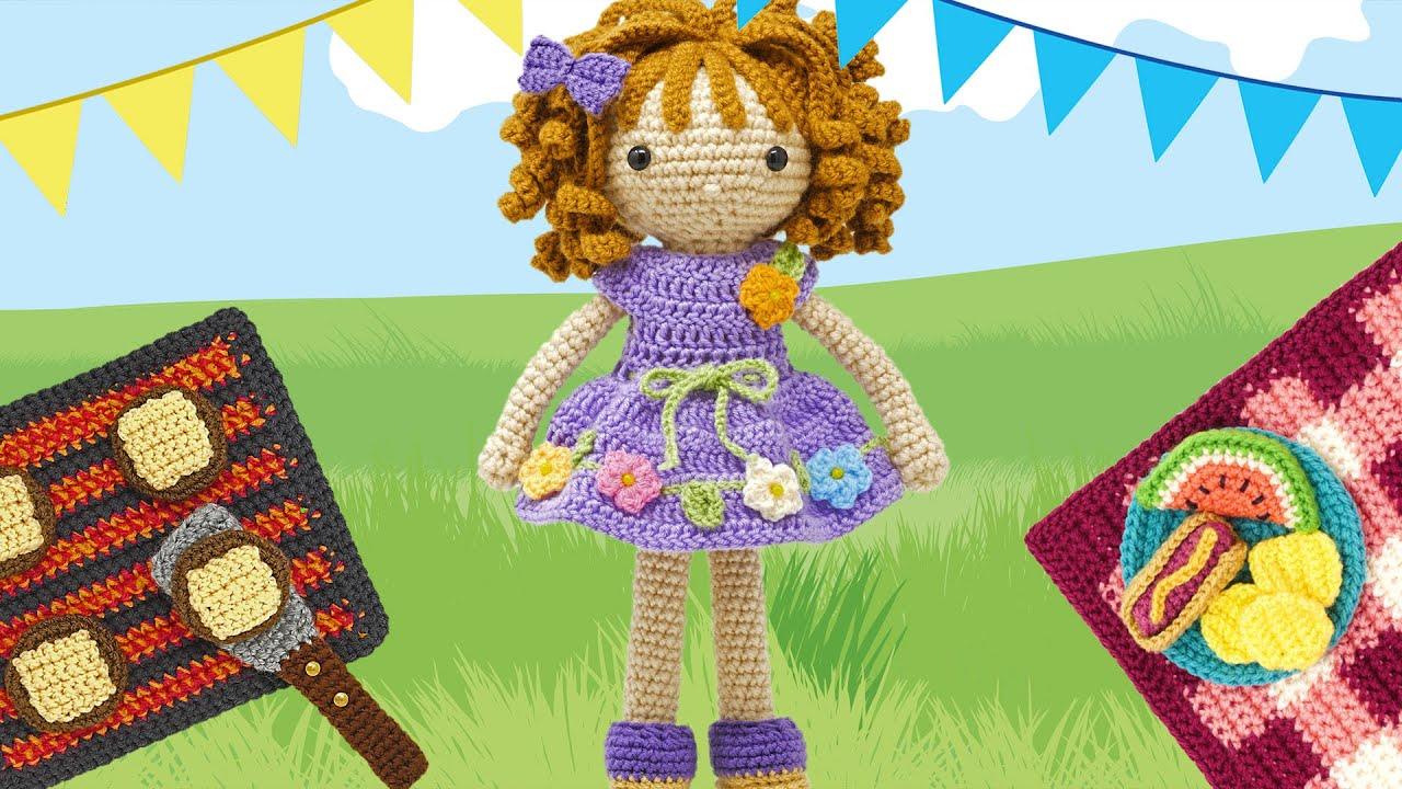 Ravelry: Lilly Doll: Dress Up Dolls Amigurumi Crochet Patterns pattern by  Sayjai Thawornsupacharoen | Crochet amigurumi, Dress up dolls, Lilly doll | 720x1280