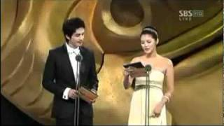 2006 KBS Performance Awards: Best Couple Award with Ha Ji Won ( Hwa...