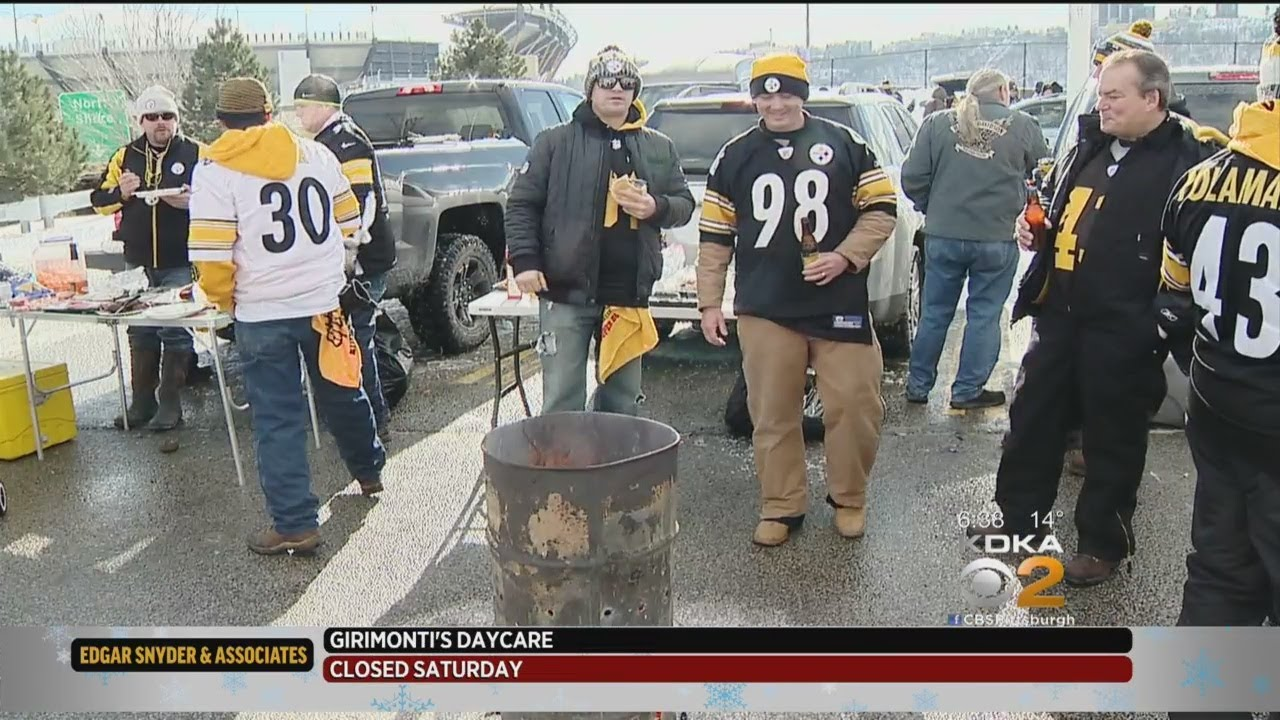Bitter Temperatures & A Bitter End: Steelers Fans Left Disappointed After Braving Cold For Playo
