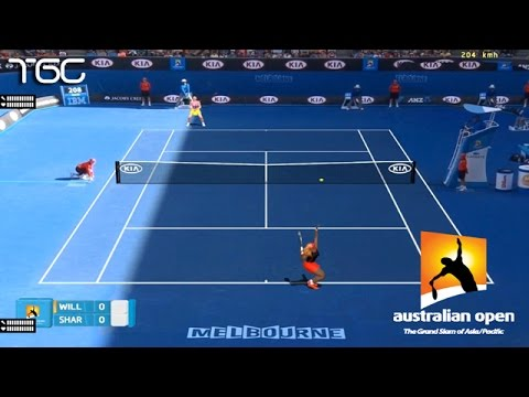 Tennis Elbow 2014 - Australian open 2015 - Serena Williams vs Maria Sharapova GAMEPLAY