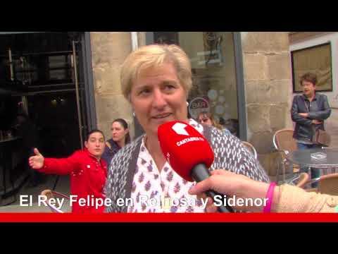 El Rey Felipe VI visita el Ayuntamiento de Reinosa y Sidenor en su 100 Aniversario