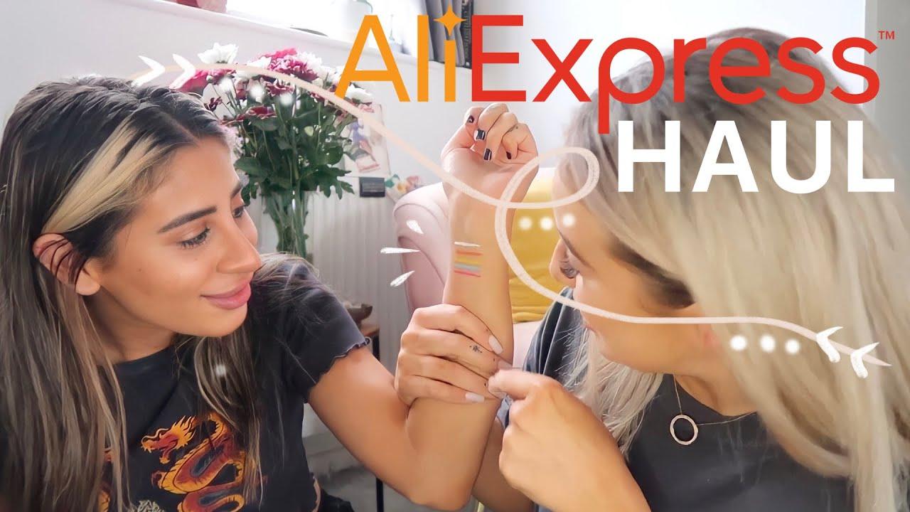 TESTING ALIEXPRESS!! Aliexpress haul.. impressed?? | GAB AND ELLA