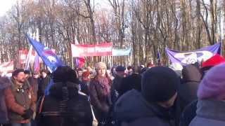 Митинг в поддержку Крыма в Смоленске