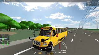Roblox | Lets Be a School bus driver [EP.5]