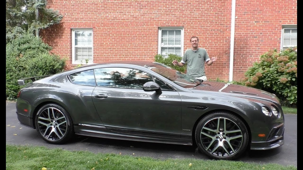 The Bentley Continental SuperSports is a $310,000 Bentley Hellcat