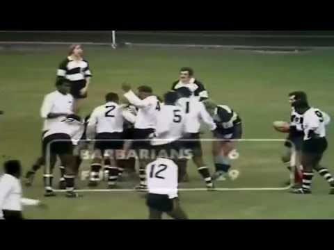 Flying Fijians vs British Baabaas 1970 at Gosforth (Apologies not 100% clarity)