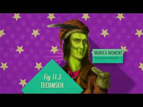 SCED 341 - War of 1812 Lesson (Crash Course Video)