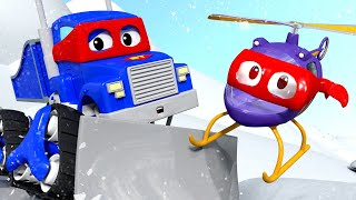 Снегоочиститель - Трансформер Карл в Автомобильный Город 🚚 ⍟ детский мультфильм