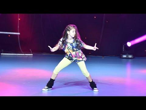 Elena - 1st Place Hip Hop Solo Kids / Dance Fest Novi Sad 2014 / AQUA