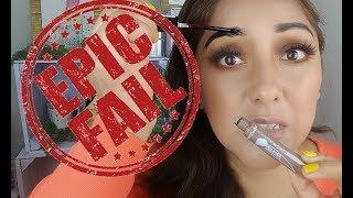 PEEL-N-SEAL BROW TINT GEL KLEANCOLOR|QUE DESASTRE!!|♡Zari Makeup*