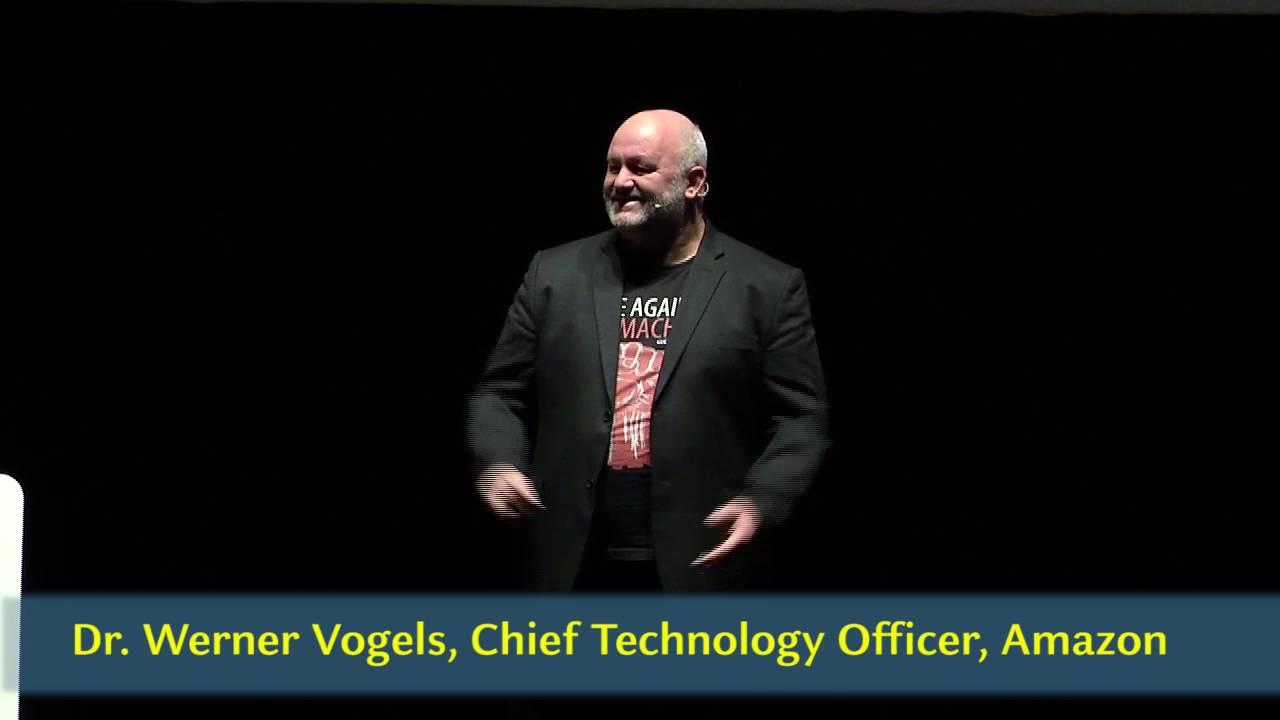 AWS Summit Milano 2016 | Werner Vogels Keynote - YouTube