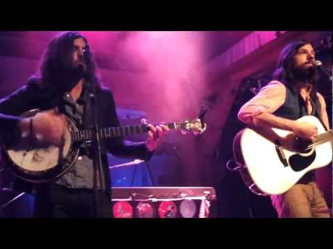 The Avett Brothers live - Down With The Shine - @ Fabrik in Hamburg 2013-03-05 HD